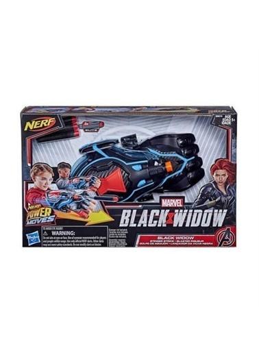 Hasbro Hasbro E8674 Marvel Black Widow Power Moves Role Play Oyuncak Dart Seti Renkli